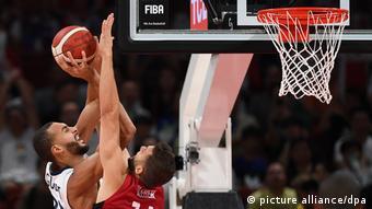 Basketball WM Frankreich - Deutschland