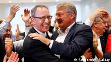 Landtagswahl in Sachsen 2019 | Jörg Urban & Jörg Meuthen, AfD