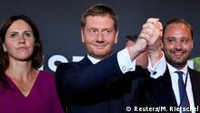 Landtagswahl in Sachsen 2019   Dresden   Michael Kretschmer, CDU