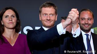 Landtagswahl in Sachsen 2019 | Dresden | Michael Kretschmer, CDU