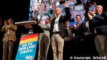 Infografik Landtagswahlen Hochrechnung Brandenburg