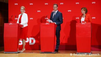 Ικανοποιημένο το προεδρείο του SPD από το αποτέλεσμα των εκλογών στο Βρανδεμβούργο