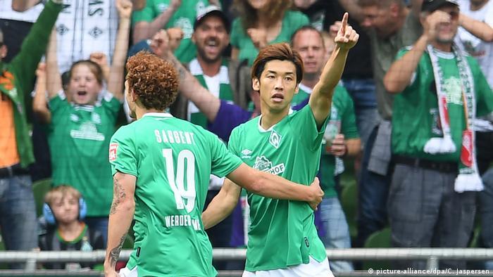 Fußball Bundesliga   Werder Bremen vs. FC Augsburg (picture-alliance/dpa/C. Jaspersen)