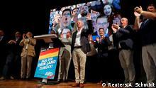 Lantagswahlen Brandenburg Andreas Kalbitz AFD Jubel