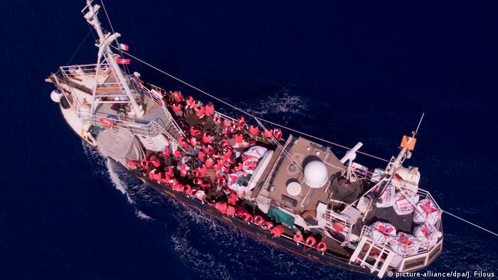 Mittelmeer Rettungsschiff Eleonore
