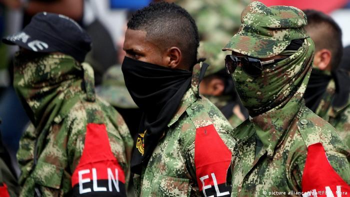 Kolumbien ELN-Rebellen in Cali