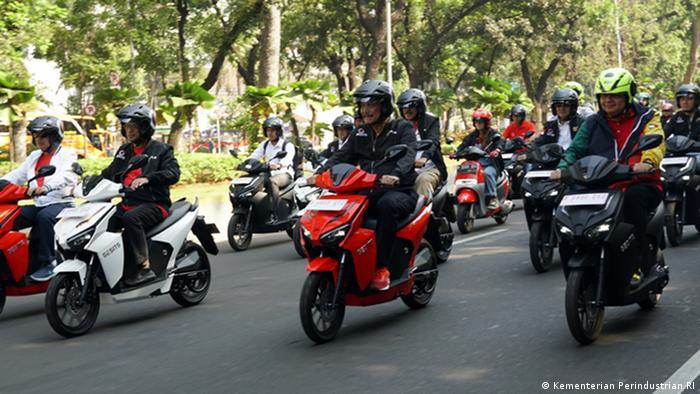 Indonesien Elektroroller (Kementerian Perindustrian RI)