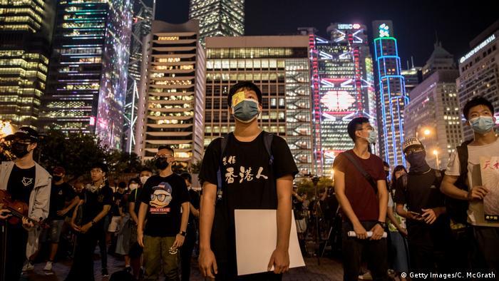 Hongkong China Protest Schüler