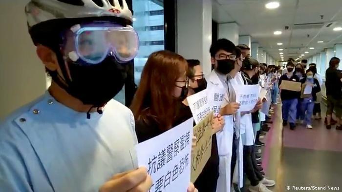 Hongkong China Protest Schüler Studenten (Reuters/Stand News)
