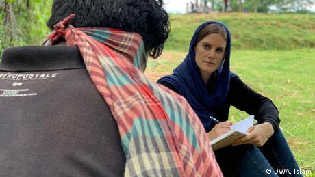 Naomi Conrad Investigativ-Redaktion der Deutschen Welle (DW/A. Islam)