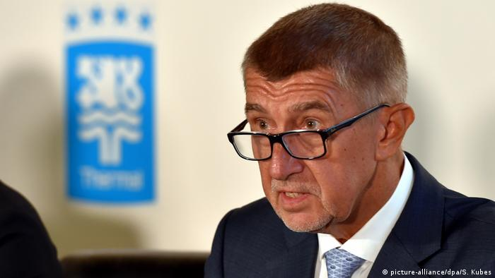 Tschechien, Karlovy Vary: Andrej Babis (picture-alliance/dpa/S. Kubes)