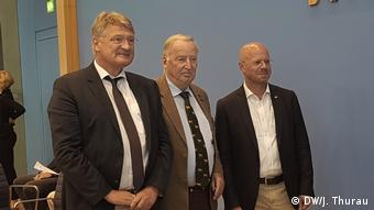 Mόιτεν, Γκάουλαντ και Κάλμπιτς σε παλαιότερη κοινή φωτογραφία