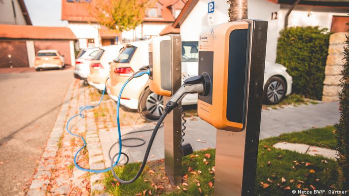 Netze BW charging stations for electric vehicles