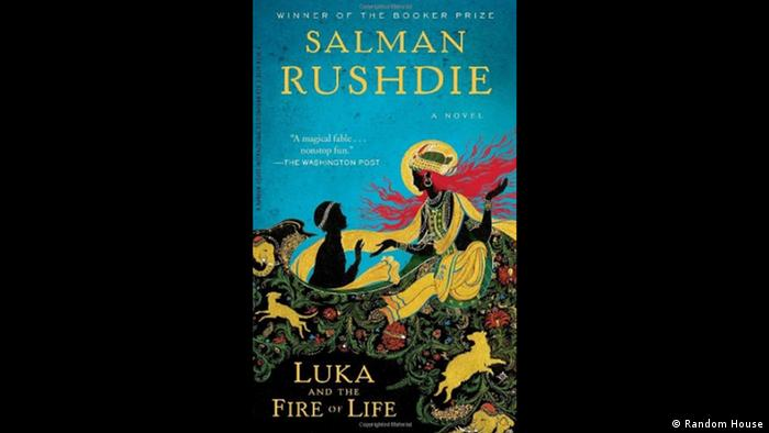 Book cover Salman Rushdie Luka and the fire of life (Random House)