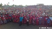 Campanha Zambézia Motiv: Wahlkampfveranstaltung der FRELIMO-Partei in der Provinz Zambézia, Mosambik Aufnahmedatum: 31.08.2019 Fotograf: Marcelino Mueia, DW