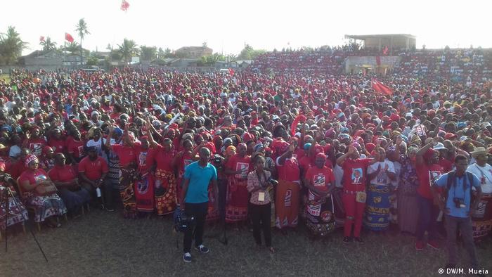 Mosambik FRELIMO Partei Campanha Zambézia