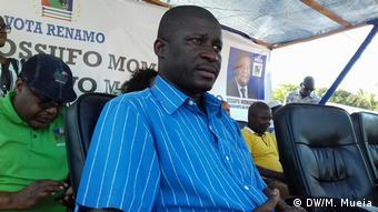 Mosambik RENAMO Partei Manuel de Araújo (DW/M. Mueia)