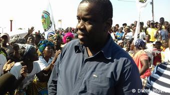 Mosambik MDM Partei Daviz Simango (DW/M. Mueia)