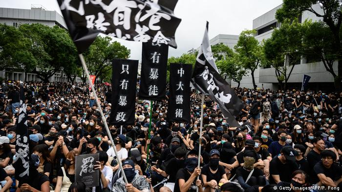 Hongkong | Studenten Protestieren (Getty Images/AFP/P. Fong)