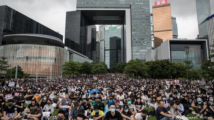 Hongkong | Schüler und Studenten Protestieren (Getty Images/C. McGrath)