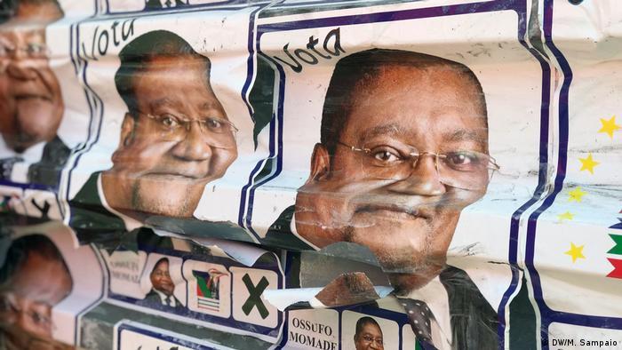 Mosambik Wahlkampf 2019 (DW/M. Sampaio)