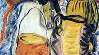 This painting, Roman Stilllife, by Erich Heckel was stolen from the Bruecke Musuem in 2002