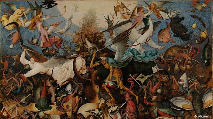 Pieter Bruegel The Fall of the Rebel Angels (Wikipedia)