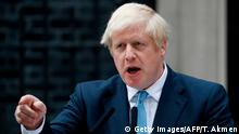 England London Brexit Statement Boris Johnson