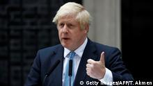 England London Brexit Statement Boris Johnson
