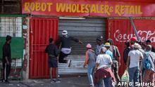 Unruhen in Südafrika