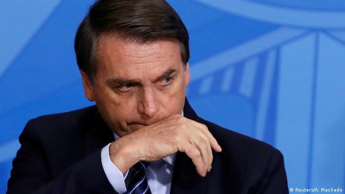 Brasiliens Präsident Jair Bolsonaro (Reuters/A. Machado)