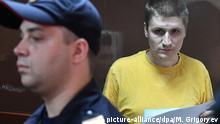 Russland, Moskau: Prozess gegen Blogger Vladislav Sinitsa