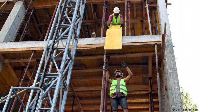 Radnici na gradilištu