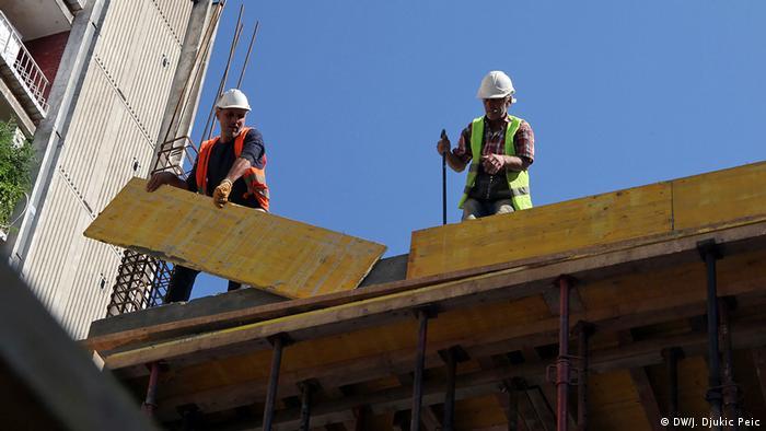 Turski radnici na gradilištu u Srbiji