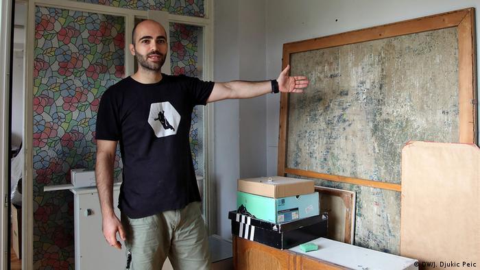 Marko Jovanović je krenuo u očito nemoguću misiju - u renoviranje stana