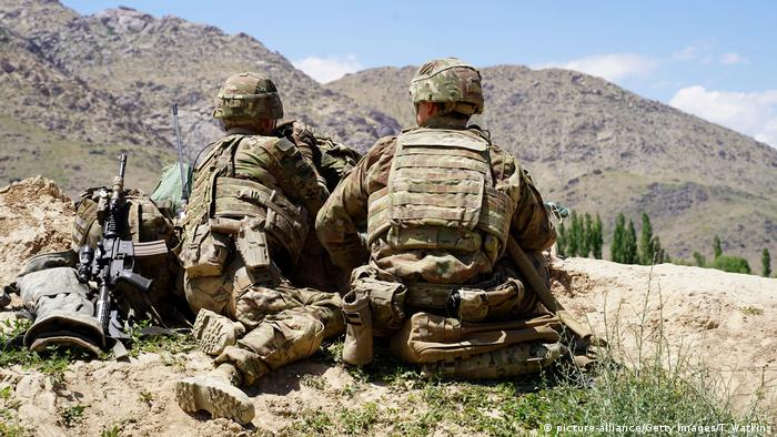 Afghanistan US-Truppen (picture-alliance/Getty Images/T. Watkins)
