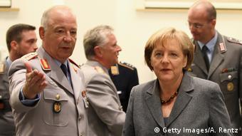 Angela Merkel und Rainer Glatz (Getty Images/A. Rentz)