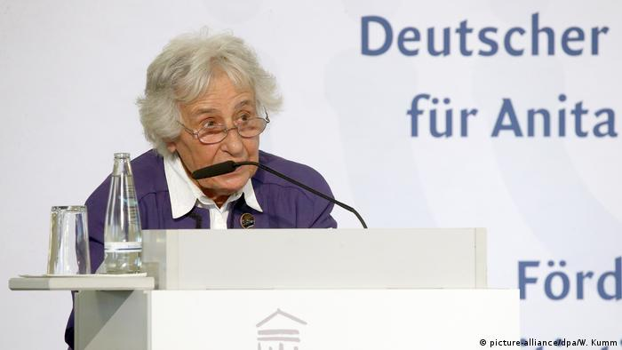 Berlin Deutscher Nationalpreis 2019 an Anita Lasker-Wallfisch Auschwitzüberlebende (picture-alliance/dpa/W. Kumm)