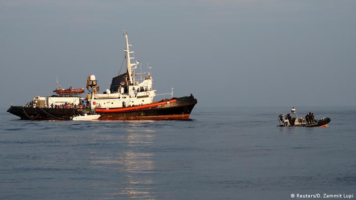 Alan Kurdi gemisi 13 sığınmacıyı kurtarmıştı