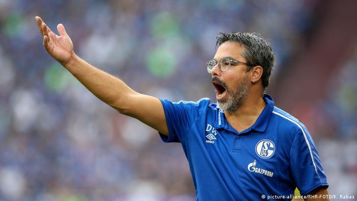 Fußball Bundesliga FC Schalke 04 - Hertha BSC Cheftrainer David Wagner