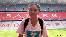Lernerporträt Aigerim aus Kasachstan