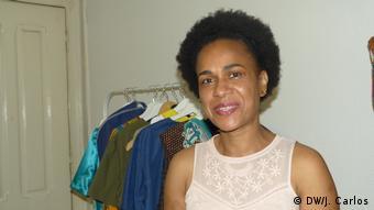 Alice Goretti Pina Modeschöpferin und Kriminologin aus Sao Tome und Principe