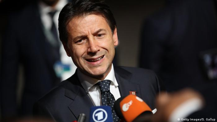 Italien | Guiseppe Conte (Getty Images/S. Gallup)