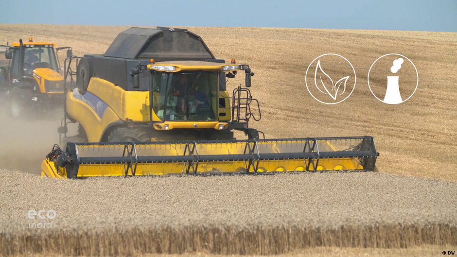 What's the environmental impact of agriculture?