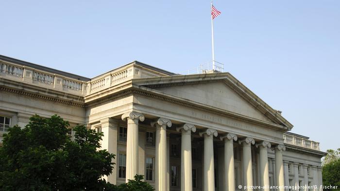 وزارت خزانهداری آمریکا در واشنگتن دی سی