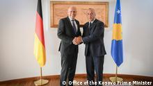 Kosovo Treffen Peter Beyer, MdB CDU & Premierminister Ramush Haradinaj