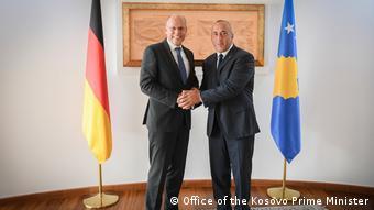Peter Beyer me kryeministrin e Kosovës në detyrë Ramush Haradinaj, Prishtine, 3.09.2019