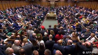 England Brexit Abstimmung über die Dringlichkeitsdebatte zum Brexit