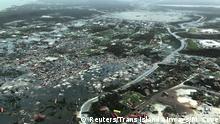 USA Bahamas Hurrikan Dorian Luftbild