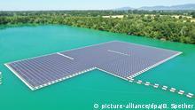 BdT Deutschland Schwimmende Photovoltaik-Anlage